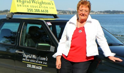 Ingrid gives new and nervous drivers confidence to succeed.