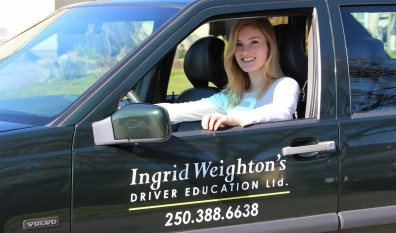 Training for new drivers – Ingrid gives confidence