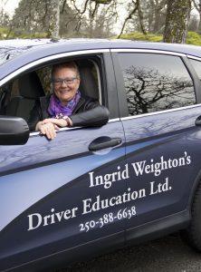 Ingrid Weighton Driving Coach